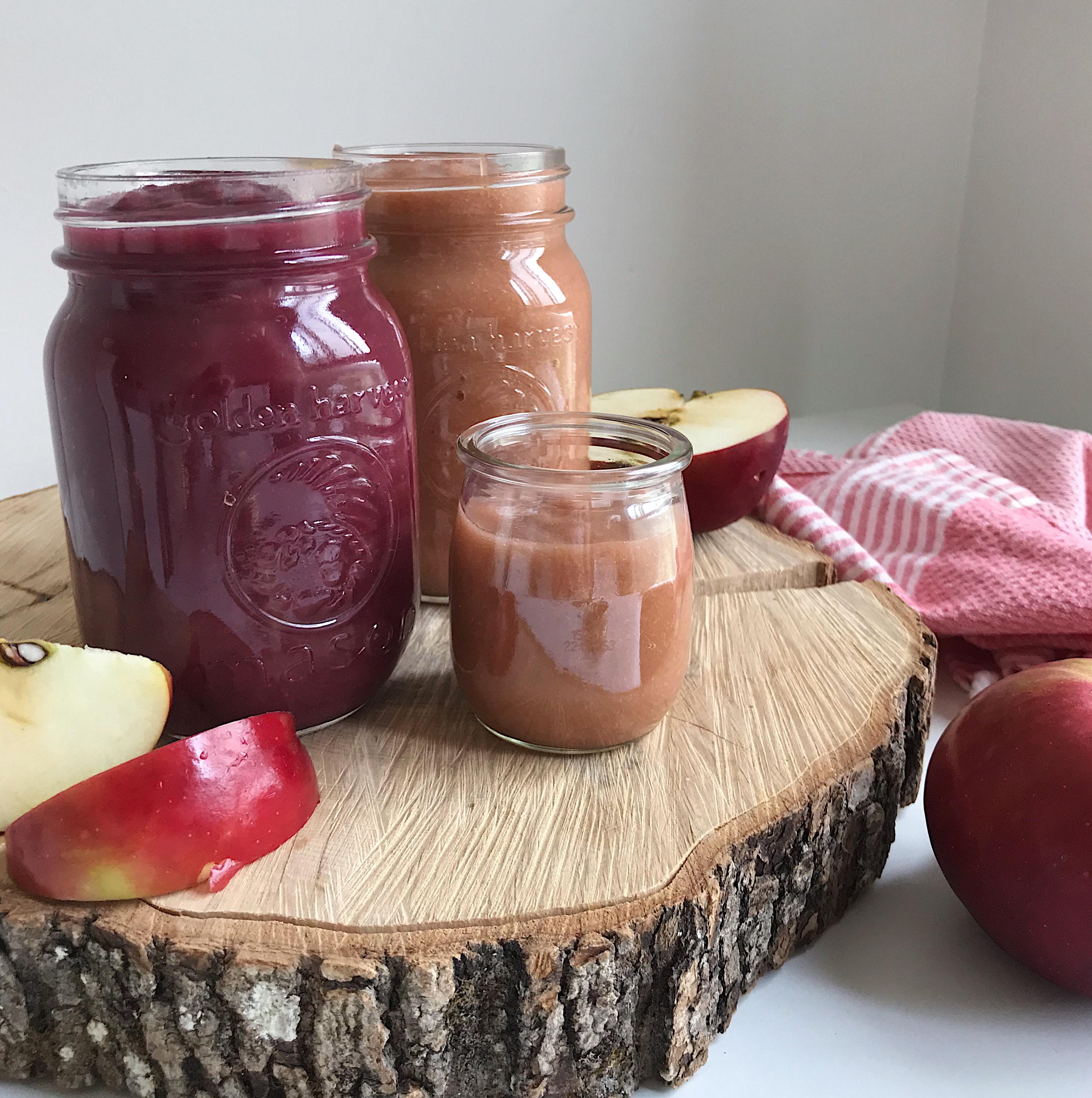 Purée de pommes maison