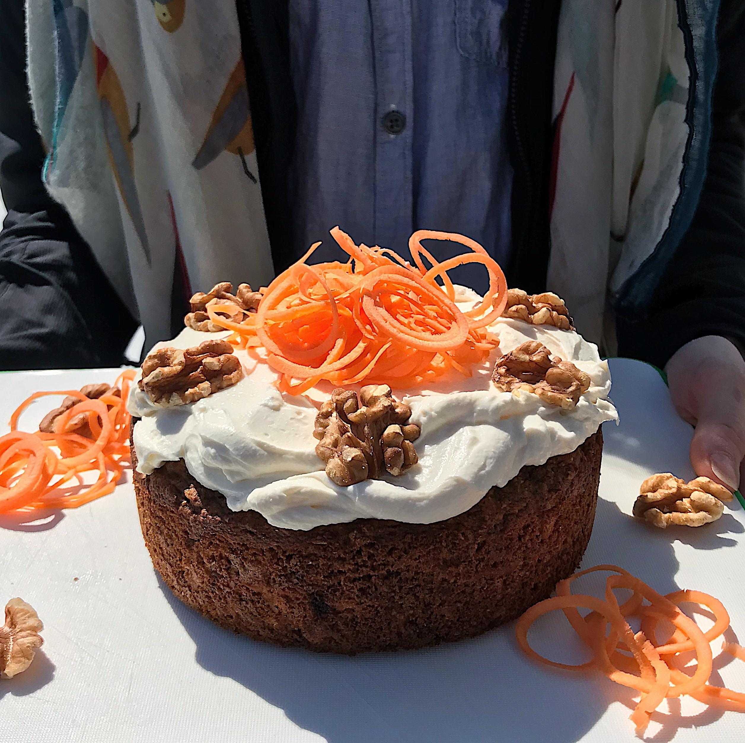 Gâteau aux carottes moelleux