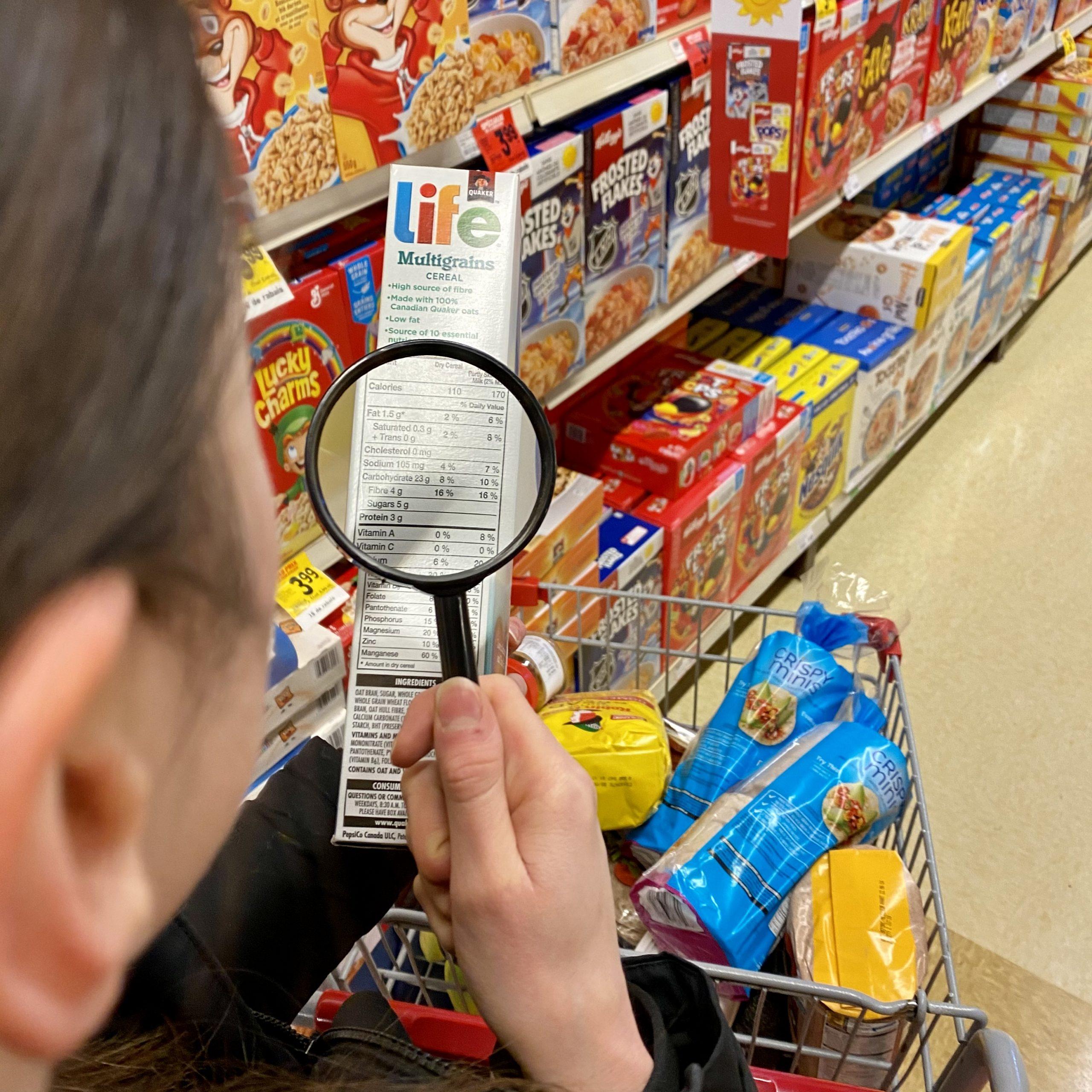 Mes conseils de nutritionniste : la lecture d'étiquettes